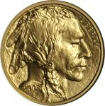2008-W Quarter-Ounce Gold Buffalo. Burnished. Early Releases. MS-70 (NGC).