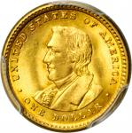 1905 Lewis and Clark Exposition Gold Dollar. MS-64+ (PCGS).