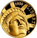 1986-W Statue of Liberty Centennial Gold $5. Proof-69 Deep Cameo (PCGS).