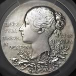 GREAT BRITAIN Victoria ヴィクトリア(1837~1901) AR Medal 1897 オリジナルケース付 with original case PCGS-SP UNC Deta