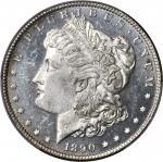 1890-CC Morgan Silver Dollar. VAM-4. Top 100 Variety. Tailbar. MS-63 DMPL (PCGS).