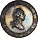 1860 U.S. Mint Cabinet Medal. Silver. 60 mm. Musante GW-241, Baker-326, Julian MT-23. Mint State.