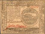 CC-14. Continental Currency. November 29, 1775. $4. About Uncirculated.