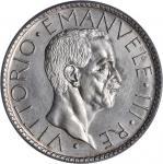 ITALY. 20 Lire, 1929-R VII. PCGS MS-64.
