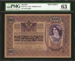 AUSTRIA. Oesterreichisch-Ungarische Bank. 10,000 Kronen, 1918. P-25s. Specimen. PMG Choice Uncircula