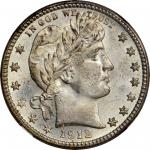 1912-S Barber Quarter. MS-68 (NGC).