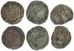 Edward VI (1547-53), coinage in the name of Henry VIII, Groats (2), both Southwark, 2.33g, m.m. none