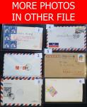 China PR.; Lot of 80 covers domestic usage affixed with commemorative postage stamps mostly in singl