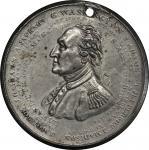1834 American Eagle medal. Musante GW-147,Baker-55A. White Metal. Engrailed edge. AU-58 (PCGS).