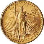 1920 Saint-Gaudens Double Eagle. MS-63 (PCGS).