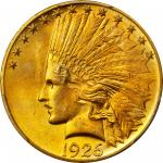 1926 Indian Eagle. MS-65+ (PCGS).