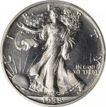 1938 Walking Liberty Half Dollar. Proof. Unc Details--Gouged (PCGS).