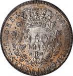BRAZIL. 960 Reis, 1819-R. Rio de Janeiro Mint. John VI. NGC MS-63.