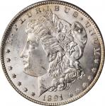 1891-CC Morgan Silver Dollar. MS-64 (PCGS). OGH.