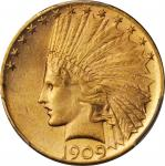 1909-S Indian Eagle. MS-62 (PCGS).