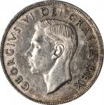 CANADA. Dollar, 1948. Ottawa Mint. PCGS AU-55 Gold Shield.