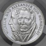 GERMANY Federal Rep 西ドイツ 5Mark 1967F  NGC-PF66 Ultra Cameo Proof