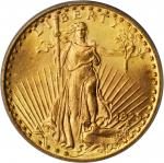 1925 Saint-Gaudens Double Eagle. MS-65 (PCGS). OGH.