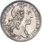 """USA Amérique-Canada (colonies françaises), Louis XV (1715-1774). Jeton """"SEDEM NON ANIMUM MUTANT"""" par"""