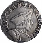 ITALY. Savoy. Teston, ND (1504-53). Bourg-en-Bresse Mint. Carlo II. NGC EF-40.