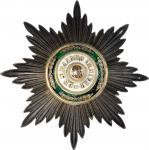RUSSIA. Order of St. Stanislaus, Civil Division, Grand Cross Breast Star, ND (ca. 1855). CHOICE EXTR
