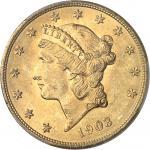 USA République fédérale des États-Unis d'Amérique (1776-à nos jours). 20 dollars Liberty 1903, Phila