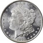 1879-O Morgan Silver Dollar. MS-65+ (PCGS). CAC.