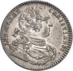 """USA Amérique-Canada (colonies françaises), Louis XV (1715-1774). Jeton """"SUB OMNI SIDERE CRESCUNT"""", t"""