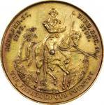 Circa 1859 Calendar medal by Peter H. Jacobus. Musante GW-302, Baker-387. Brass. UNC Details—Scratch