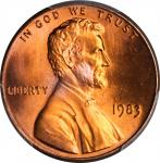 1983 Lincoln Cent. FS-801. Doubled Die Reverse. MS-67+ RD (PCGS). CAC.