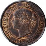CANADA. Cent, 1859. London Mint. Victoria. PCGS MS-63 Brown Gold Shield.