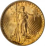 1914-S Saint-Gaudens Double Eagle. MS-66 (PCGS).