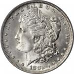 1882-O/S Morgan Silver Dollar. VAM-4. Top 100 Variety. Strong, O/S Recessed. MS-65 (PCGS). CAC.