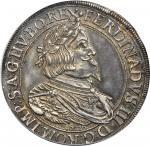 AUSTRIA. Taler, 1646. Graz Mint. Ferdinand III (1637-57). PCGS AU-58 Secure Holder.