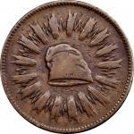 1836 First Steam Coinage. Original Feb. 22 Date. Copper. 28 mm. By Christian Gobrecht. Julian MT-20.