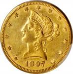1897-O Liberty Head Eagle. Unc Details--Cleaned (PCGS).