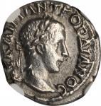 CAPPADOCIA. Caesarea. Gordian III, A.D. 238-244. AR Drachm, Year 4 (A.D. 240/1).NGC AU.