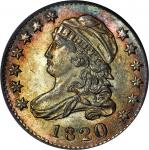 1820 Capped Bust Dime. JR-8. Rarity-3. Large 0. MS-65 (PCGS). CAC.