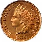 1878 Indian Cent. Snow-PR4. Proof-67 RD (PCGS). OGH.