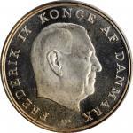 DENMARK. 5 Kroner, 1964-CS. Copenhagen Mint. PCGS SPECIMEN-65.