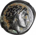 MACEDON. Kingdom of Macedon. Philip II, 359-336 B.C. AE Unit. NGC.