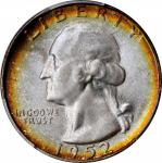 1952-S Washington Quarter. MS-68 (PCGS). CAC.