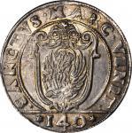 ITALY. Venice. Scudo, (1626)-AF. Giovanni Corner I (1625-29). NGC MS-62.