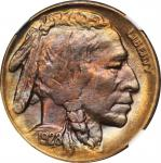 1928-D Buffalo Nickel. MS-66 (NGC).