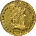 1795年半鹰 PCGS AU 58