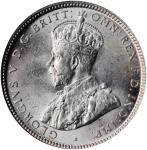 AUSTRALIA. Shilling, 1916-M. Melbourne Mint. NGC MS-64.
