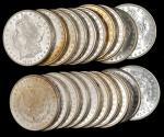 Lot of (420) 1889 Morgan Silver Dollars. Average MS-60 to MS-63.