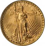 1911-D Saint-Gaudens Double Eagle. MS-64 (PCGS). CAC.