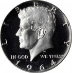 1964 Kennedy Half Dollar. Proof-69 Deep Cameo (PCGS).