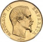 FRANCE Second Empire / Napoléon III (1852-1870). 50 francs tête nue 1857, A, Paris.